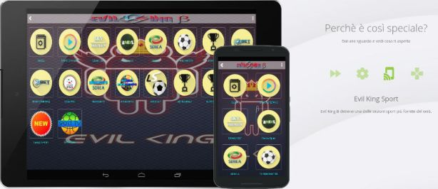 evil king serie a android