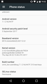 android 7.1.2 z3