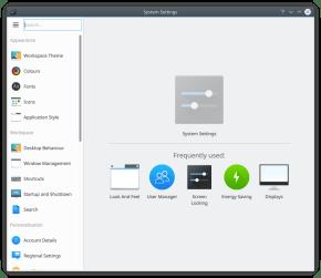 KDE Plasma 5.12 Impostazioni