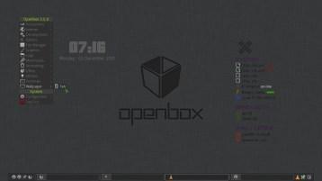 Openbox 3.5.0, Slackware.