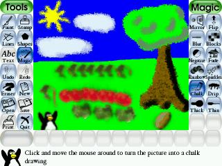Tux Paint Software Open Source Di Disegno Per Bambini
