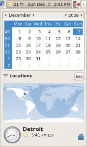 GNOME Calendar Start on Monday