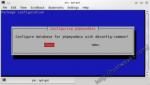 phpMyAdmin dbconfig-common