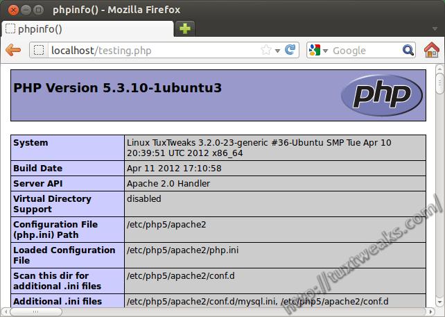Install LAMP on Ubuntu - Linux Apache MySQL php