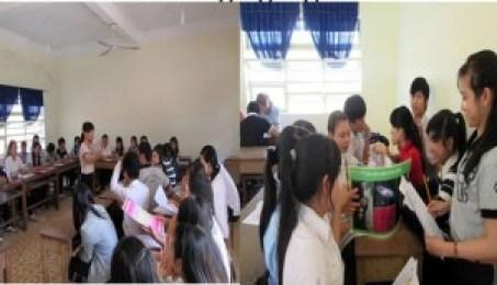 Công tác đào tạo nghề thuộc dự án ILO