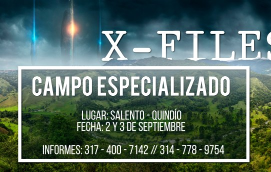 Campo Especializado X-Files ParqueSoft Quindío