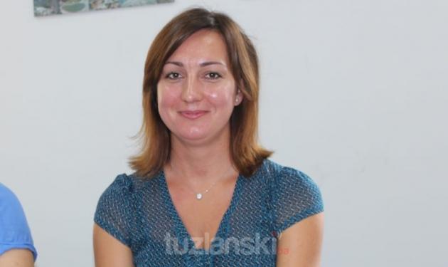 Amra Mekanović, rukovodilac finansijskih i računovodstvenih poslova
