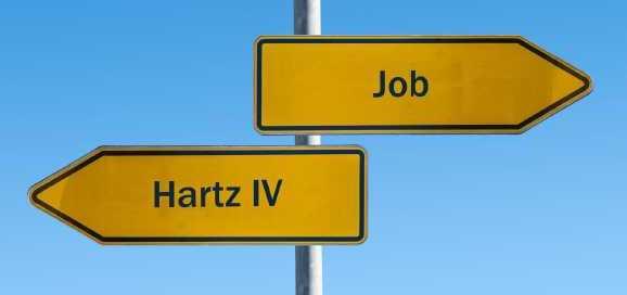 Hartz IV vs. Job Img