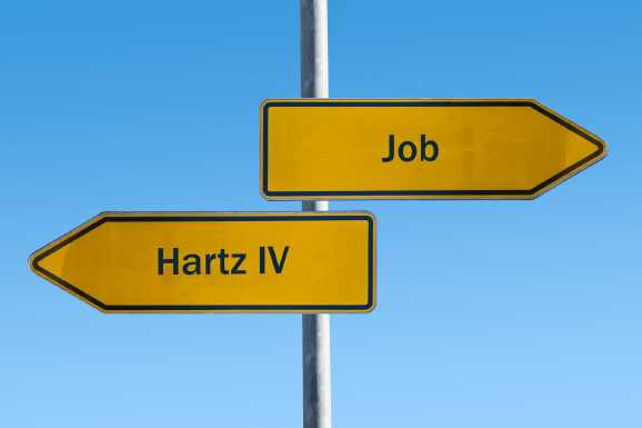 Hartz IV vs. Job Img