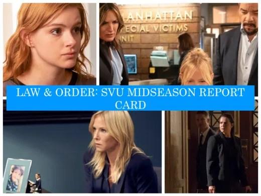 Law & Order: SVU Midseason Report Card