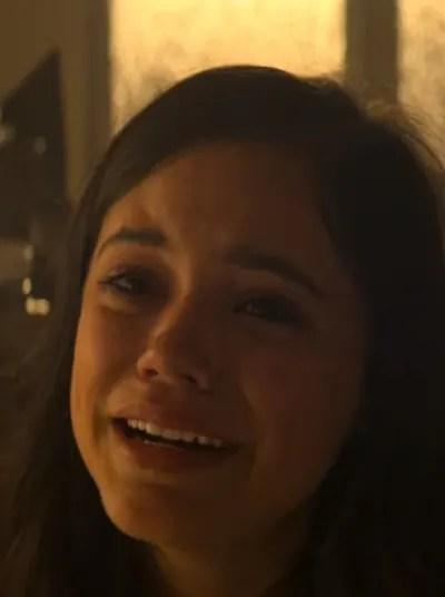 Ellie Sobs  - YOU Season 2 Episode 9