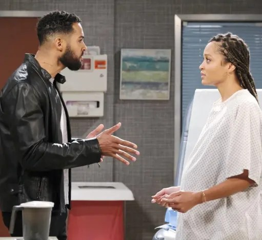 Eli Crashes Lani's Appointment - Days of Our Lives