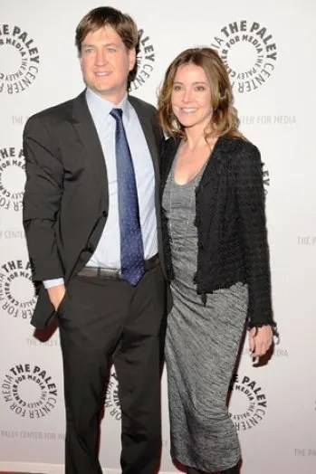 Bill Lawrence and Christa Miller
