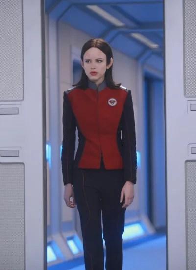 Vertical Alara - The Orville Season 1 Episode 2