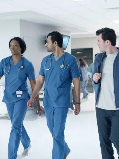 June, Theo, and Bashir Discuss Paychecks - Transplant Season 1 Episode 3