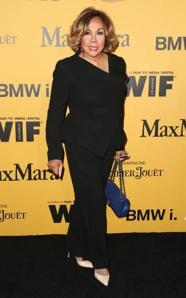 Diahann Carroll Attends Event