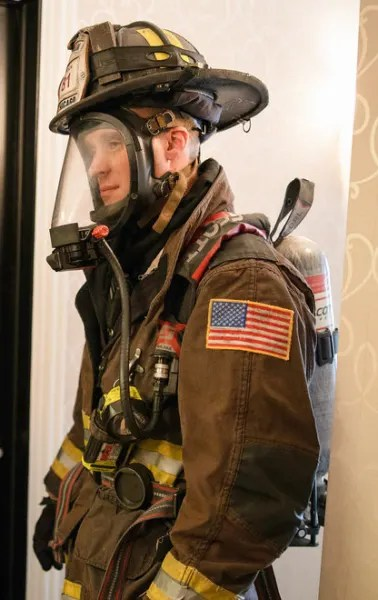 Casey suits up - Chicago Fire Season 8 Episode 14