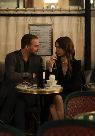 Emily Meets a Friend - Emily in Paris