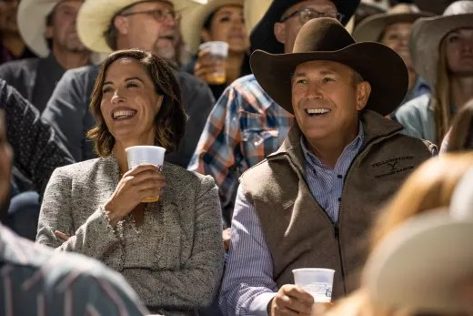 Lynelle and John at the Rodeo - Yellowstone Season 3 Episode 3