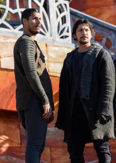 Bellamy and Gabriel - The 100 Season 6 Episode 13