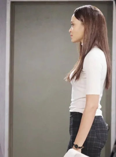 (TALL) Receiving Gabi's Wrath - Days of Our Lives