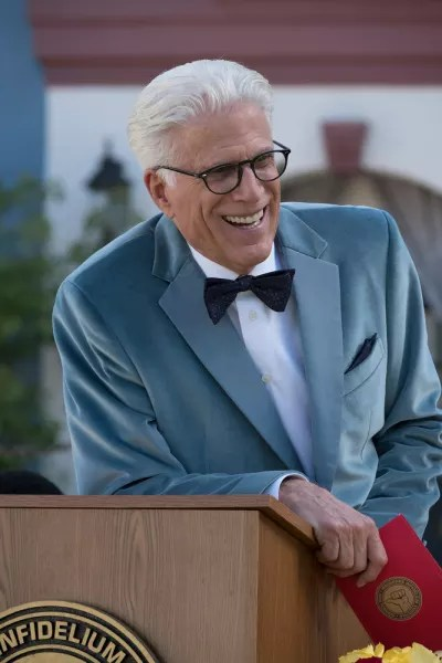 Michael Laughing - The Good Place Season 2 Episode 9