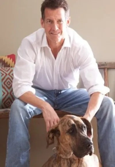 James Denton and Great Dane