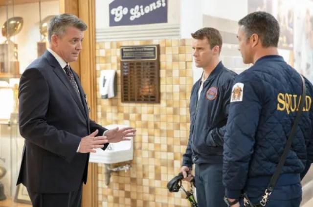 "false alarms chicago fire - Chicago Fire (S08E12) ""Then Nick Porter Happened"""