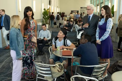 Group Huddle - The Good Place Season 3 Episode 6