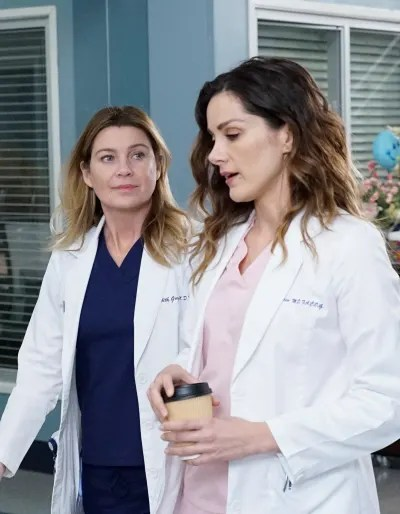 The Ladies of DeLuca's Life - Tall  - Grey's Anatomy Season 16 Episode 14