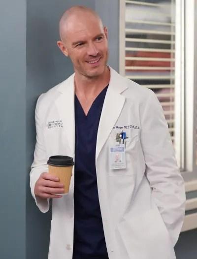 Coffee with Cormac - tall - Grey's Anatomy Season 18 Episode 3