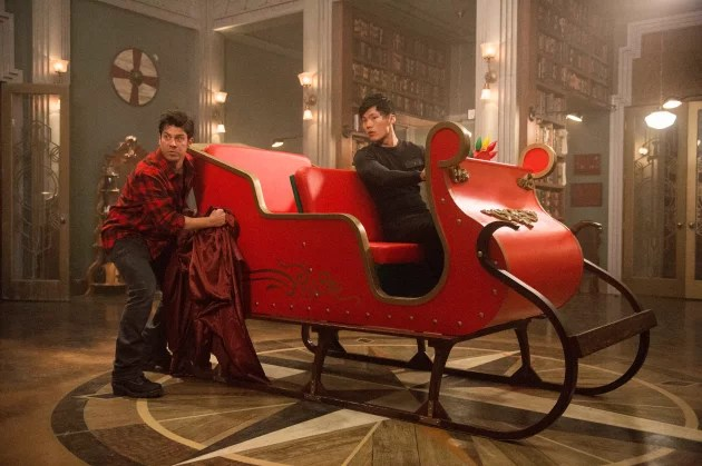 The Librarians Review Christmas And Movie Magic TV Fanatic