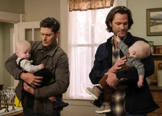 Holding Babies - Supernatural Season 15 Episode 10