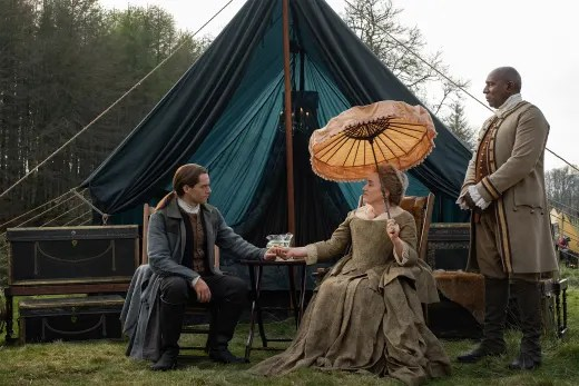 Roger and Jocasta Sit and Chat - Outlander