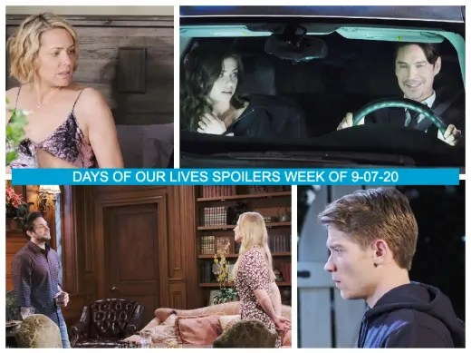 Days of Our Lives - Spoilers Week of 9-07-20
