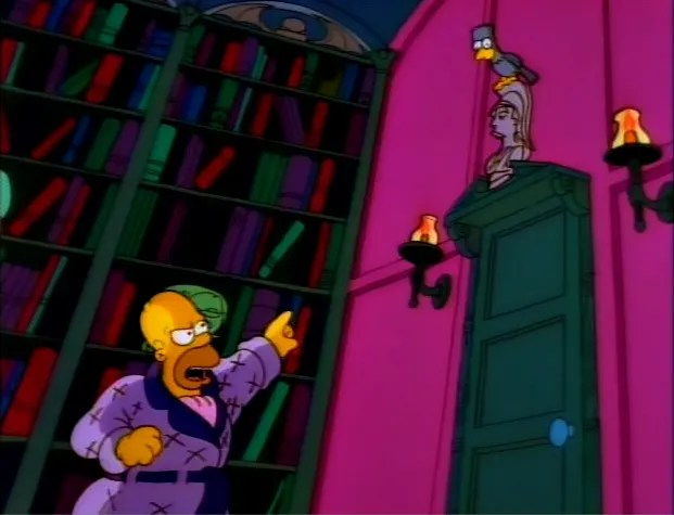 """The Simpsons Season 2 Episode 3: """"Treehouse of Horror"""" Quotes - TV Fanatic"""