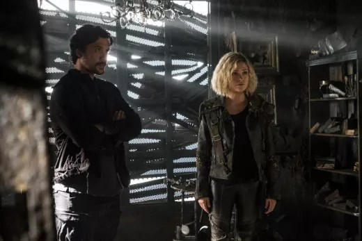 Bellamy and Clarke Making Tough Choices - The 100 Season 5 Episode 8