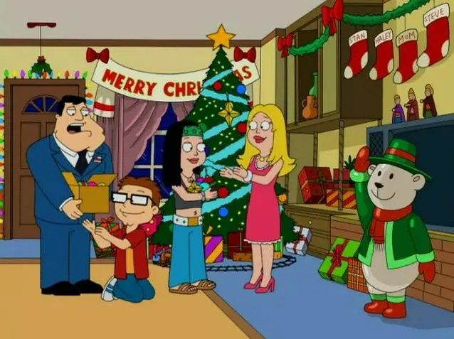 """""""The Best Christmas Story Never"""" - American Dad"""