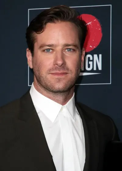 Armie Hammer participates in the event