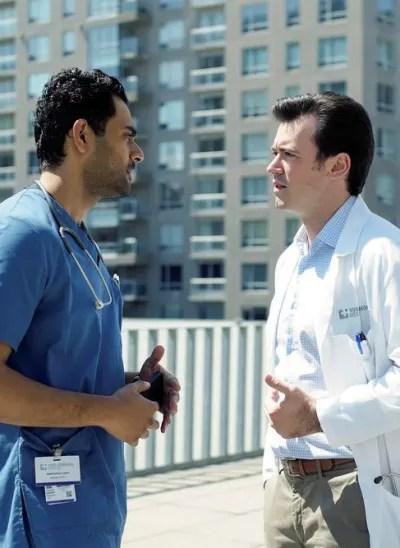 Hamed and Theo Hunter - Transplant Season 1 Episode 4