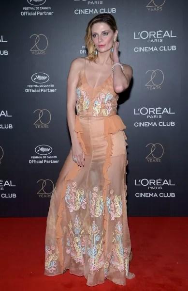 Mischa Barton Attends L'Oreal Event