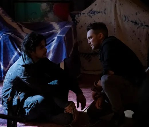Bellamy and Murphy Together - The 100 Season 6 Episode 6