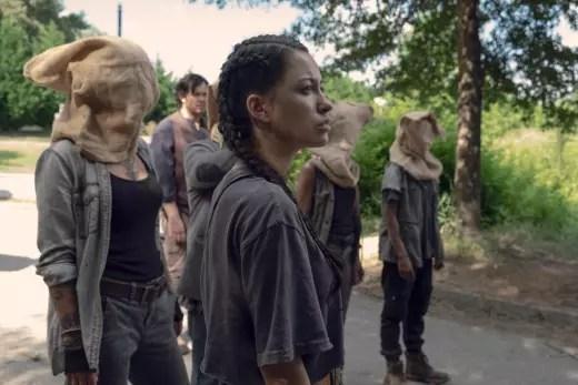 No Peeking! - The Walking Dead Season 9 Episode 6