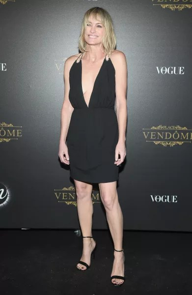 Robin Wright Attends Event