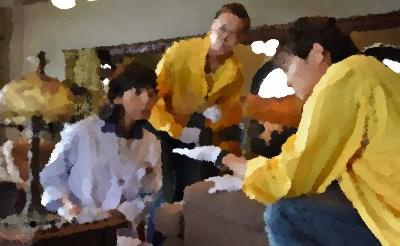 科捜研の女15 第4話「イケメン書道家殺人事件」大島蓉子,佐藤寛子,中島ひろ子 出演