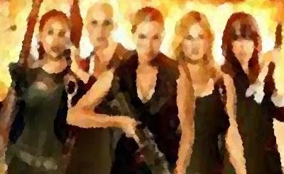 『エクスペンダブル・レディズ』(2014年 B級映画) クリスタナ・ローケン&ブリジット・ニールセン主演