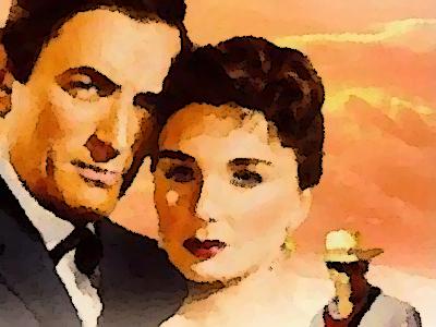 『大いなる西部』(1958年) あらすじ&ネタバレ グレゴリー・ペック主演,ジーン・シモンズ出演