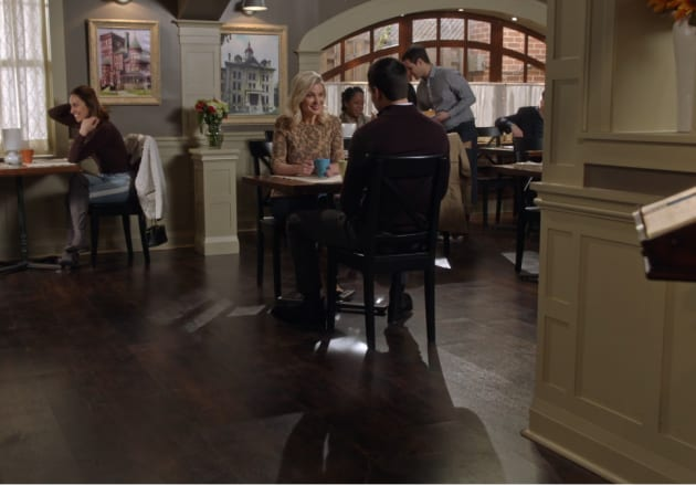 Good Witch Sneak Peek: Adam and Stephanie Have a Lot to Talk About
