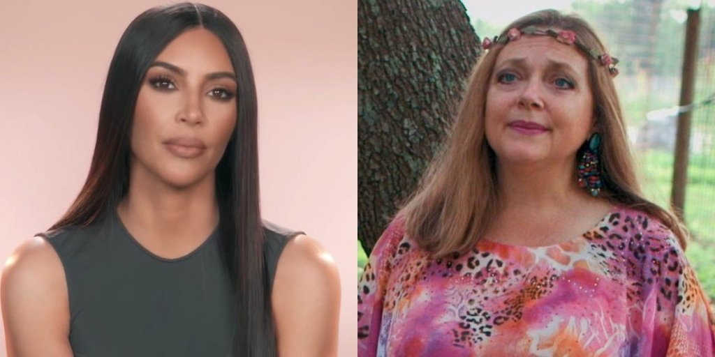 Kim Kardashian Channeled Tiger King's Carole Baskin For Her Halloween Costume, And I Can't Look Away