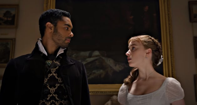 Bridgerton's Phoebe Dynevor Loved Working With Regé-Jean Page. Here's Why.